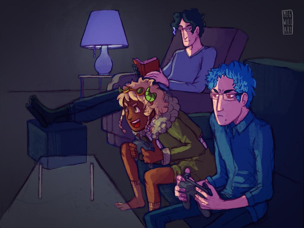 Game Night by Bearful