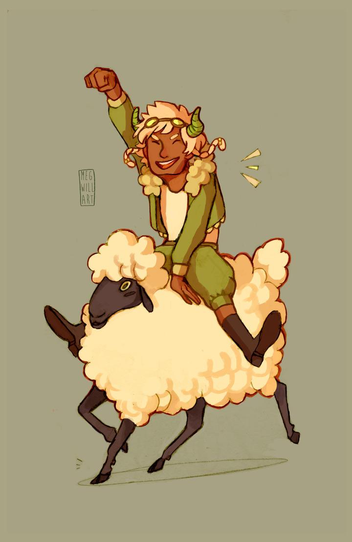 COMM: Sheep on Sheep by Bearful
