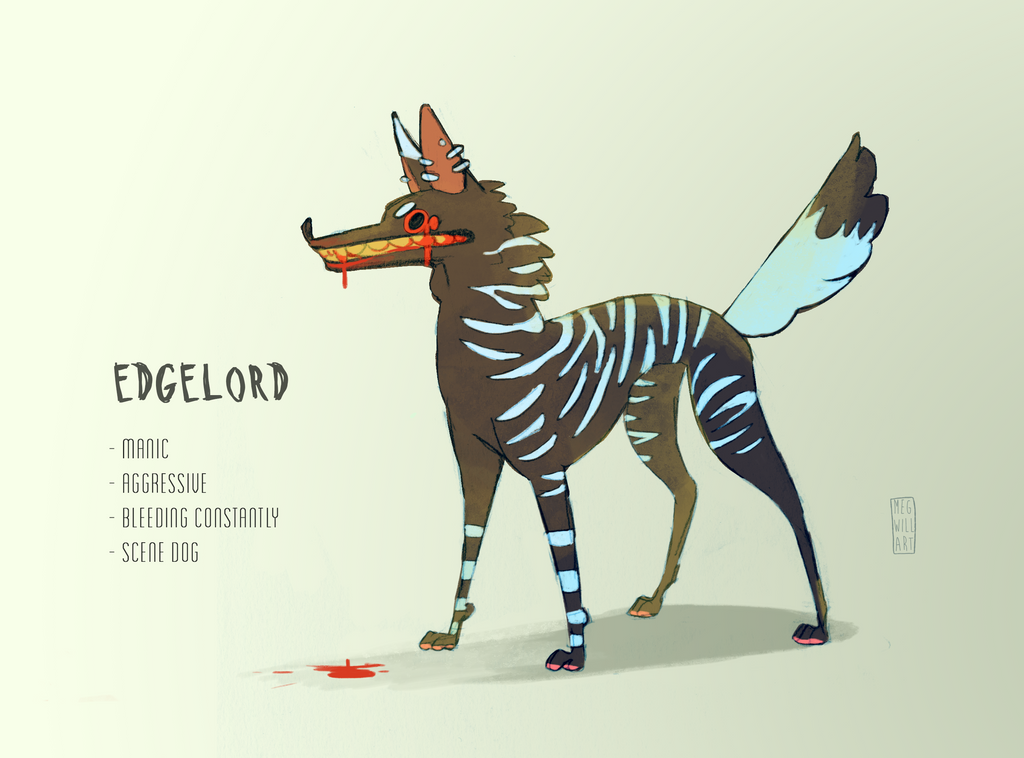 Edgelord by Bearful