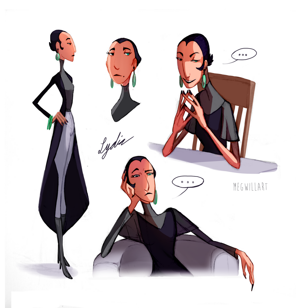 Lydia Sketchdump by Bearful