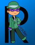 R is for Riddler in color