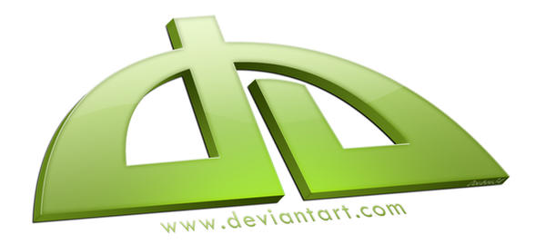 3D Deviant icon by doubou34