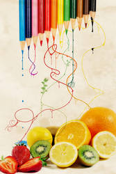 Draw me fruits by doubou34