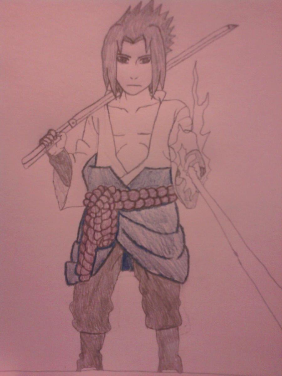 Sasuke Uchiha Chidori Sword by Garrett-Nichols20 on DeviantArt