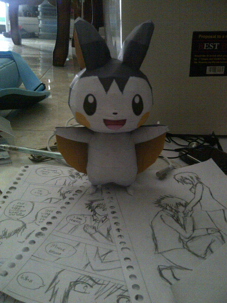 emolga by margarethere