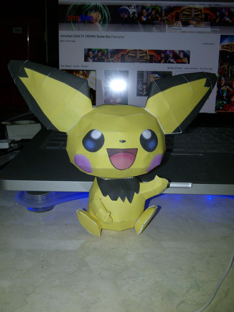 pichu by margarethere