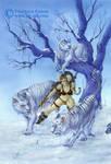 Snow tigers