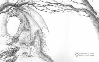 El dragon de hielo by VKart