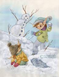 Guerra de nieve by VKart