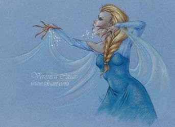 Frozen Fanart by VKart