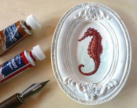 Sea Horse miniature
