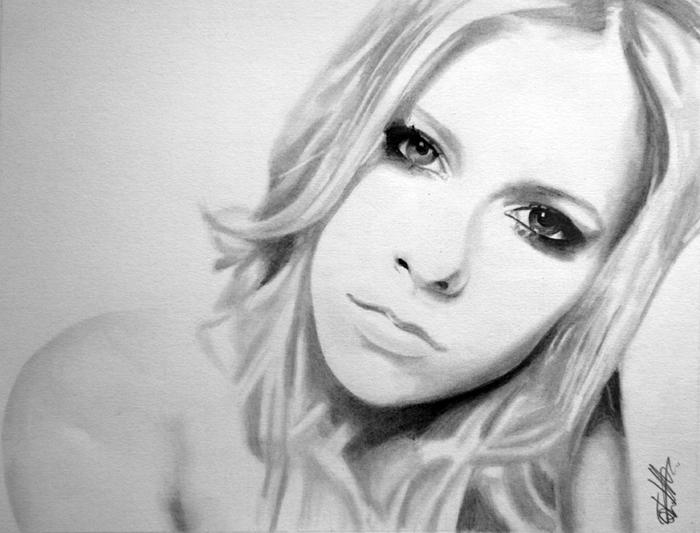 Avril Lavigne 2 by danUK86