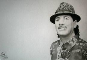 Carlos Santana by danUK86
