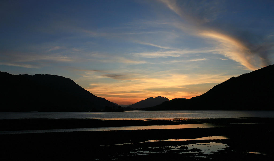 Loch Leven Sunset II by danUK86