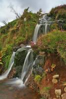 Loch Leathan Falls by danUK86