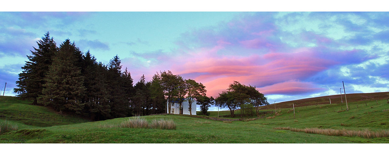 Skies On Fire - Pano