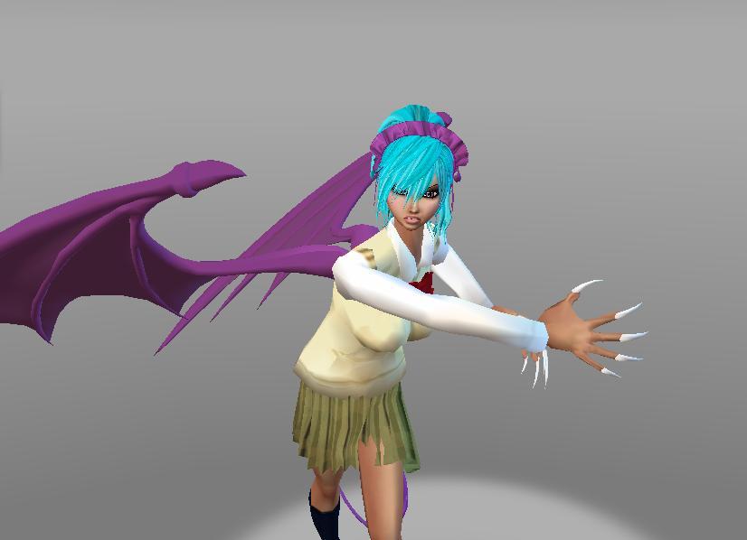 Yuki Cross Vampire Form in Day Class Uniform IMVU by charlietinks ...
