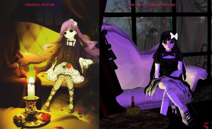 Sunako Kirishiki Shiki Anime Cover IMVU Comparison By Charlietinks