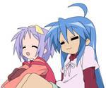 Lucky Star - Konata and Tsukasa