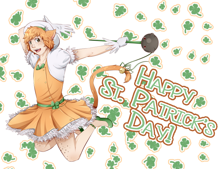 happy st patricks day by Past-Chaser
