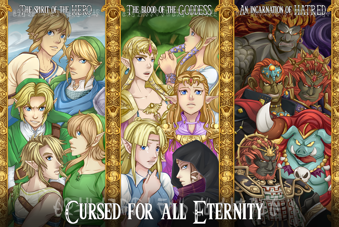 LOZ Cursed by Past-Chaser