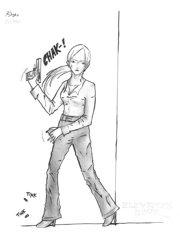Special Agent Rachel Young by xFrEAKk