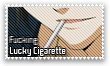 Lucky Cigarette Stamp by S-Sei