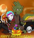 Happy Halloween - JCA version by QueenSolaris