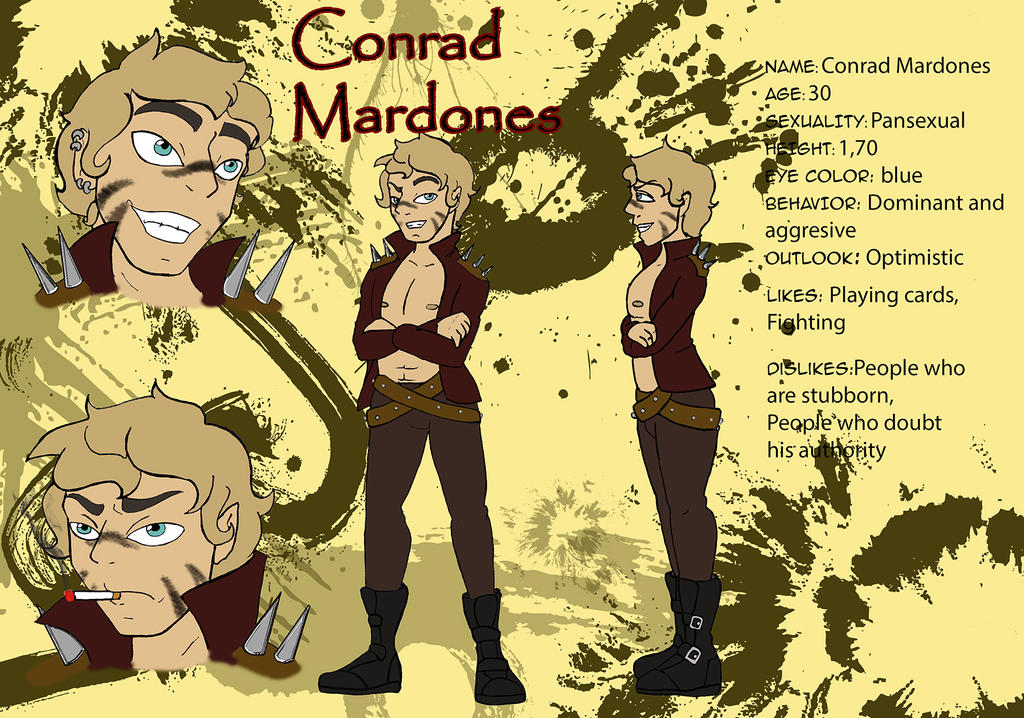 [REQUEST] Character profile - Conrad by QueenSolaris