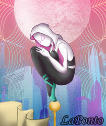 Spider Gwen by QueenSolaris
