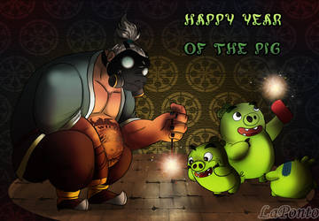 Year of the Pig by QueenSolaris