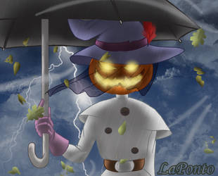 Jack o lantern by QueenSolaris