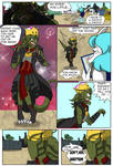 The cursed crown page 4 by QueenSolaris