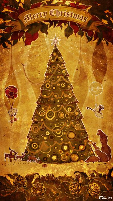 Christmas Card 07 by ushio18