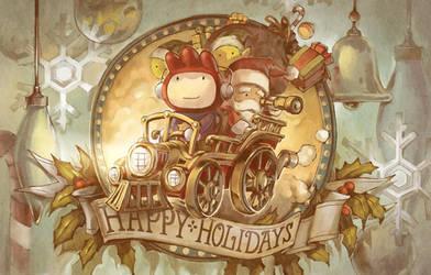 Scribblenauts Holidays by ushio18
