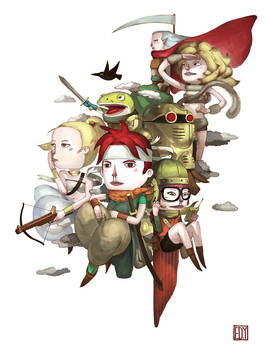 chrono trigger fan art