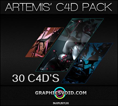 Artemis' C4D Pack by Artemis-Graphics
