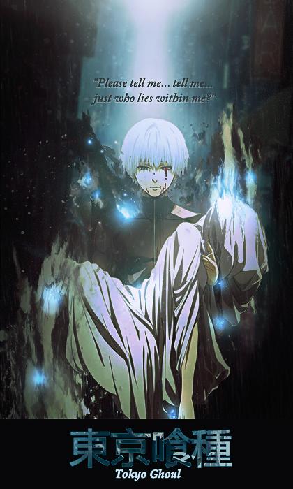 Tokyo Ghoul - Kaneki and Hide by Artemis-Graphics