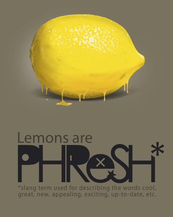 Lemons are PHReSH by MEKS413