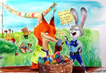 Easter in Zootopia