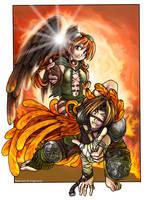 Phoenix atacks by neko-rulz