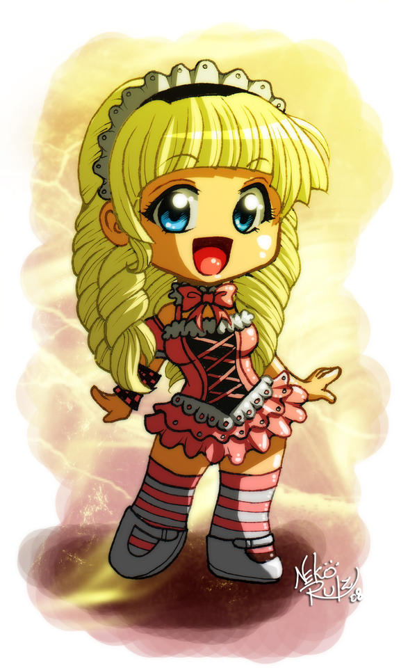 Chibi lolita by neko-rulz