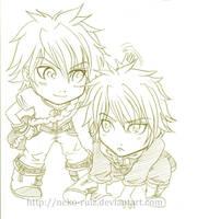 Yueyun comiss 3 - Yan and Ilan by neko-rulz