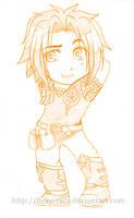 Yueyun comiss 4 - Chibi Ethan by neko-rulz