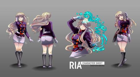 Ria: Character Sheet