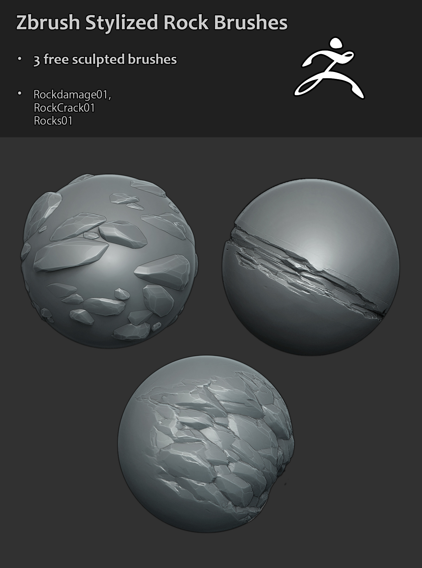 Free Zbrush Brushes by jronn-designs on DeviantArt