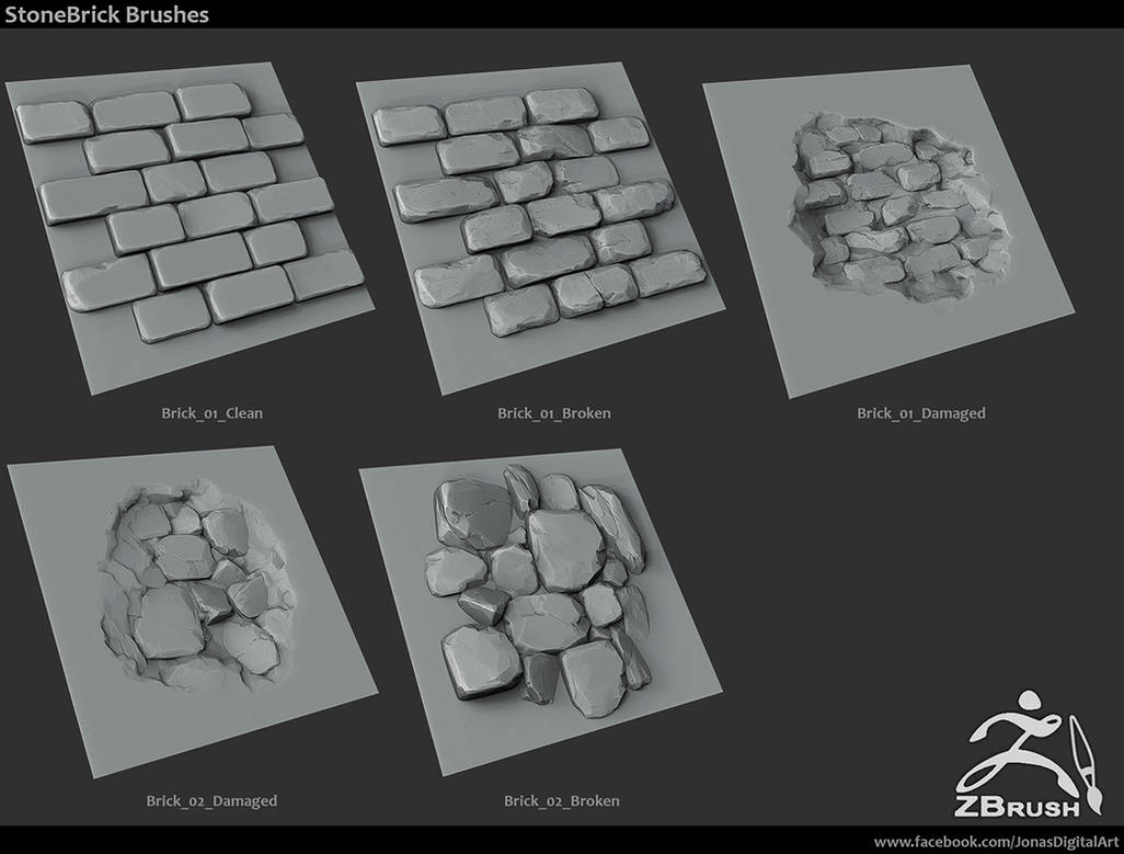 Zbrush - 18 brushes + mini tutorial by jronn-designs on DeviantArt