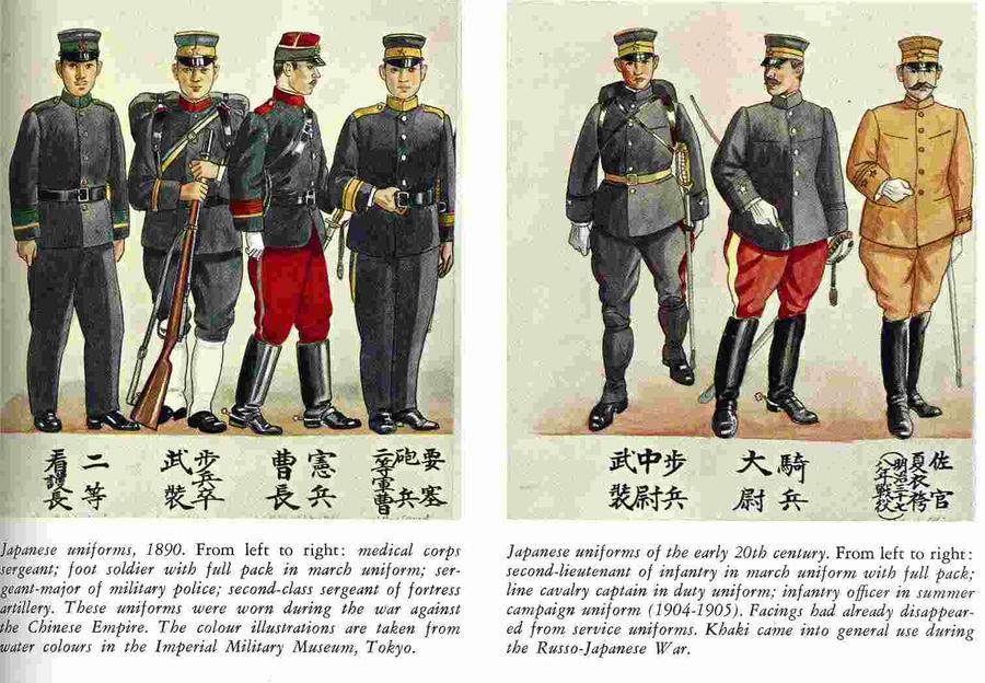 Imperial Japanese Uniform 121