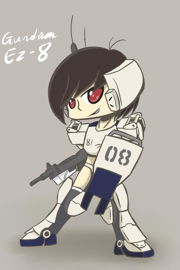 MS  Girl: Ez-8 by Mutant-Horsies