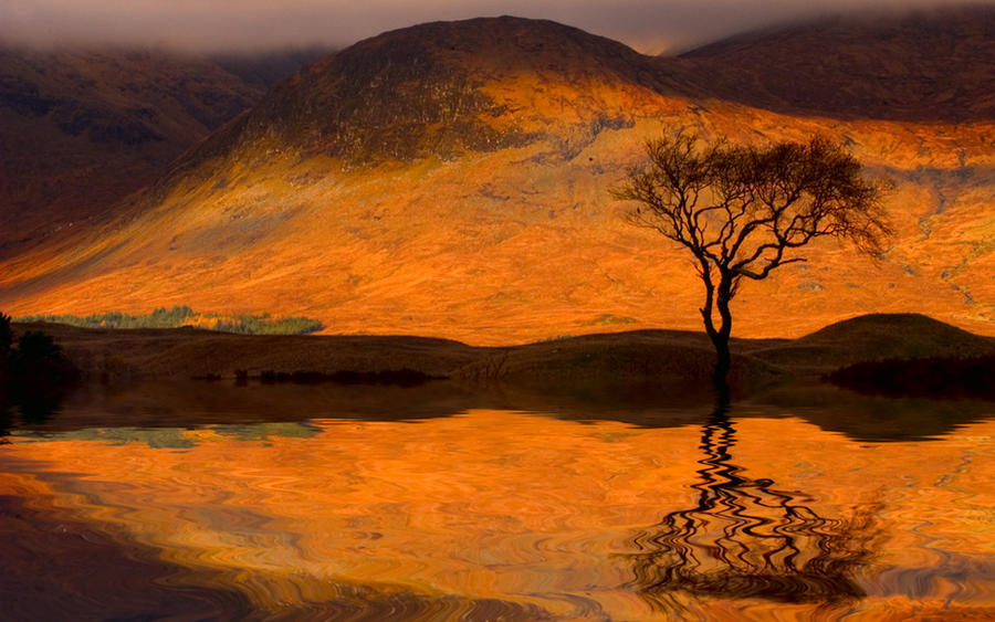 Loch Light by TonyD3